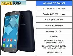 El Alcatel One Touch Pop C7 Con Vodafone  Todos Los