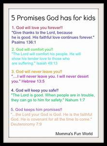 Teaching the promises of God to Kids...Free poster size ...