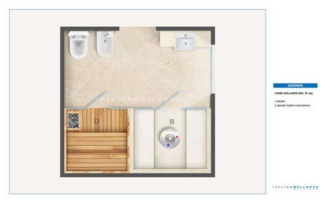 Sauna In Casa by Realizzazione Home Wellness Spa In Casa