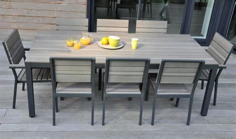 table de jardin 8 personnes table de jardin 8 personnes plastique