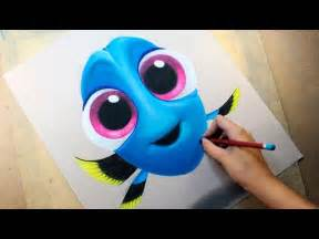 Finding Dory Baby Drawings