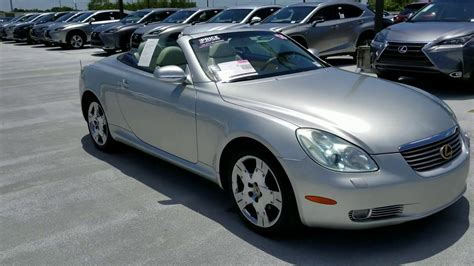 lexus sc430 lexus sc430 review