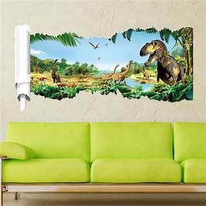 Online buy wholesale dinosaur wall stickers from china for Best 20 jurassic park wall decal