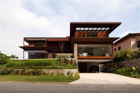 15 Fachadas De Madeira Modernas E Elegantes