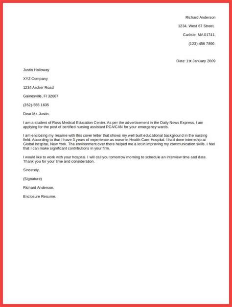 cover letter format cover letter template memo exle 14092