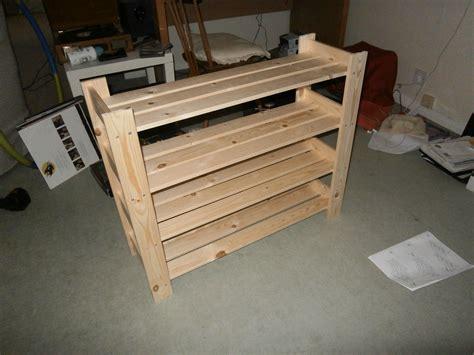 wood shoe cabinet plans diy shoe rack wooden shoe racks