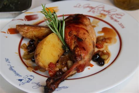lapin roti au four nicoise