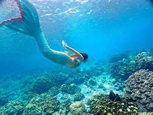 Meet Melanie, the real-life mermaid[2]- Chinadaily.com.cn
