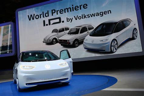 Paris 2018 Volkswagen Id Electric Concept Car Gtspirit
