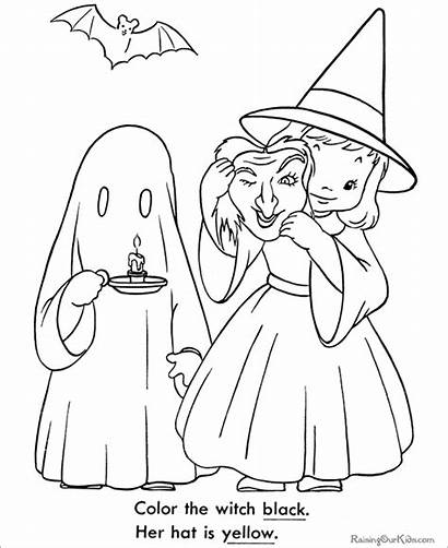 Halloween Coloring Pages Costume Template Templates Colouring