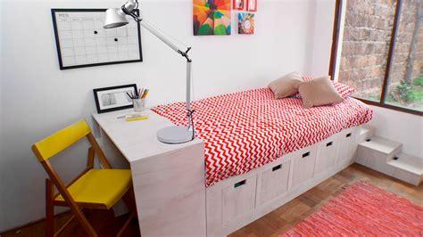 hagalo usted mismo como hacer una cama modular infantil