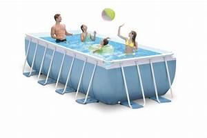 Pool Rechteckig Stahl : intex prism frame pool 488x244x107 26778 ~ Markanthonyermac.com Haus und Dekorationen