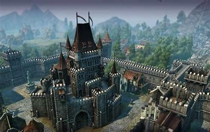 Medieval Castle Wallpapers Fantasy Cool Castles Desktop