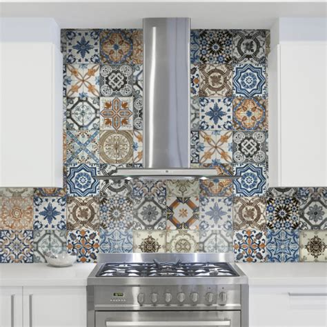 colorful kitchen backsplash tiles colorful backsplash can make a room come alive las vegas 5566