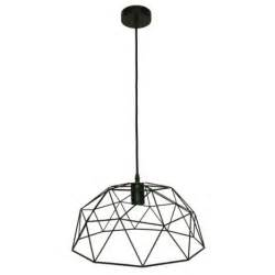 Suspension Le Design by Suspension Design Wireframe M 233 Tal Noir 1 X 60w W Inspire