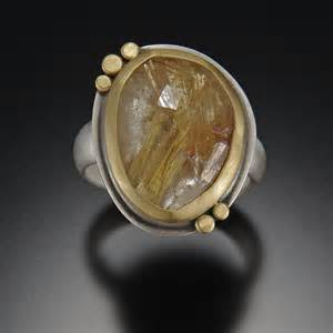rutilated quartz engagement ring rutilated quartz engagement ring images