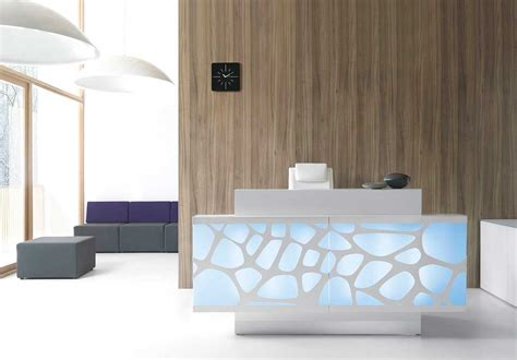 bureau reception reception desks contemporary and modern office furniture