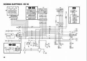 Impianto Elettrico Aprilia Rx 50 Del 98