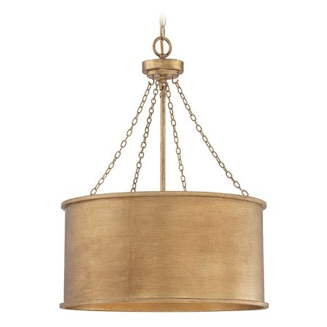 pendant drum light savoy house lighting rochester gold patina pendant light