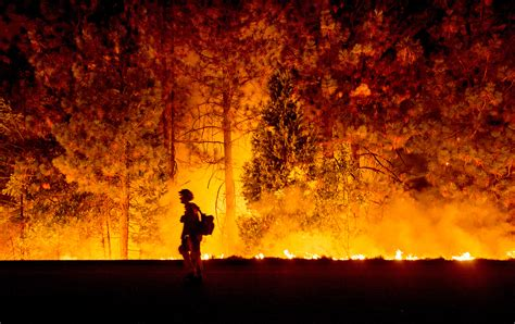 record drought hastens dramatic spread  california wildfires