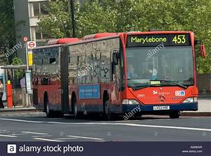 Mercedes Citaro bendy bus in the city of London, England ...