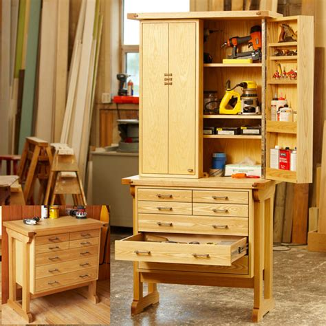 Wooden Tool Storage Cabinet Plans by Heirloom Tool Chest Woodworking Plan From Wood Magazine