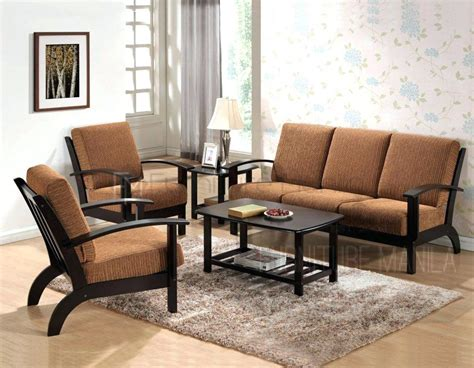 Furniture Living Room Sets Prices by Wooden Sofa Set Natures Bloom Mahogany Models With Price
