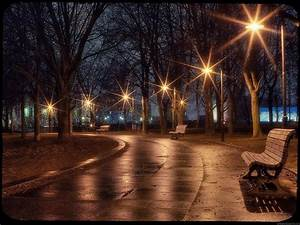 Romantic, Winter, Night