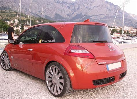 renault megane 2004 sport eleron spoiler tuning sport renault megane 2 hatchback