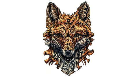 Kylo Ren 4k Wallpaper Wallpaper Fox Artwork Tattoo 4k Creative Graphics 7219