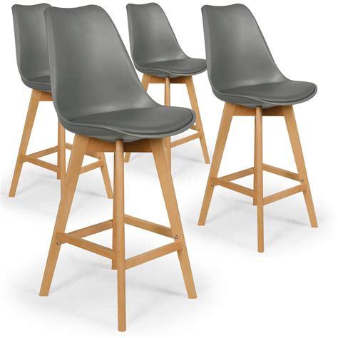 chaises hautes de bar chaise de bar scandinave large choix de produits à découvrir