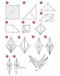 Origami Kranich Anleitung : 1000 ideas about origami kranich on pinterest origami basteln and mobiles ~ Frokenaadalensverden.com Haus und Dekorationen