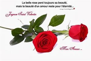 Cartes De Saint Valentin Message D39amour