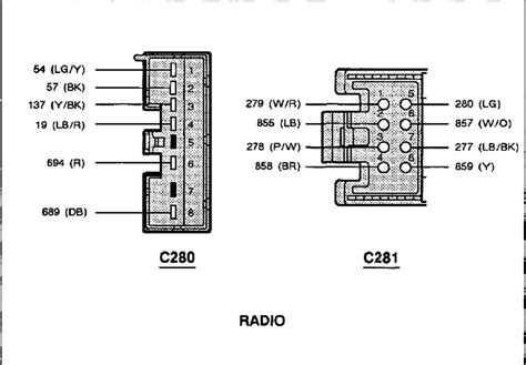 2001 Mustang Radio Wiring Diagram by 1998 Ford Expedition Mach Audio Wiring Diagram Gallery