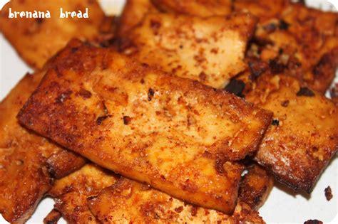 baked tofu brenana bread spicy baked tofu tacos