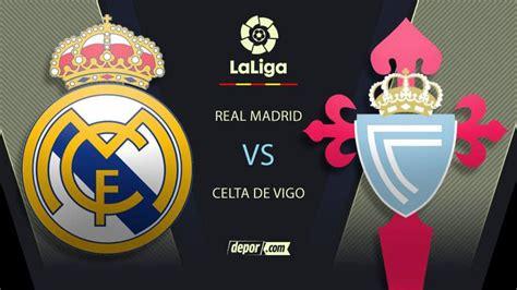 Trepó a la punta: Real Madrid venció 2-0 a Celta de Vigo y ...
