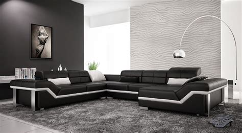 Best Of Black And White Modern Living Rooms