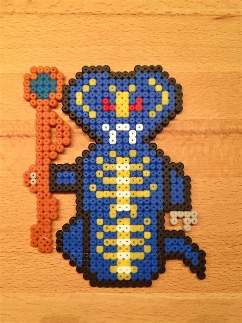ninjago scales aus buegelperlen basteln pinterest