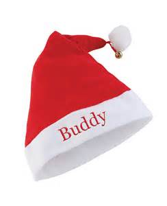 personalised santa hat treats on trend