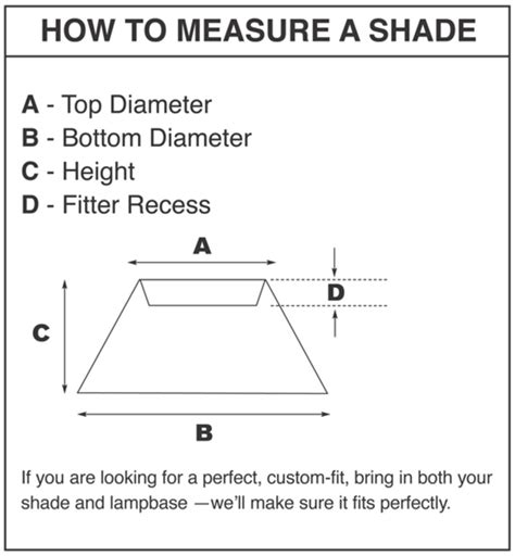 how to measure a l shade lshades a shade better ls and lshades