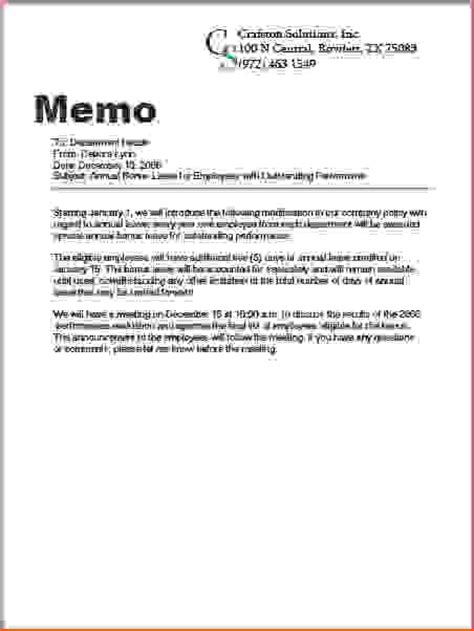 memo formats 7 what is a memo memo formats
