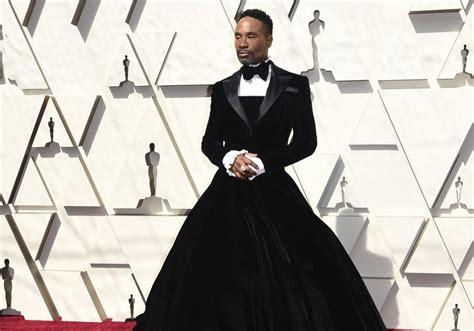 Billy Porter Rocks Gender Defying Gown Oscars Felt