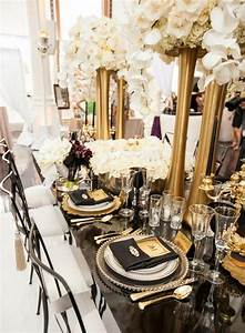 picture of elegant black and gold wedding ideas 16 With black and gold wedding ideas