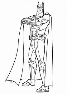 Printable Batman Coloring Only Coloring Pages