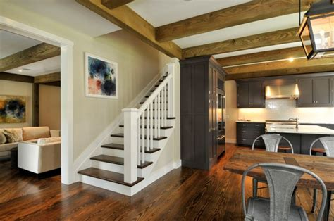 Home Stair : Barn House Staircase Ideas Complete With Photos