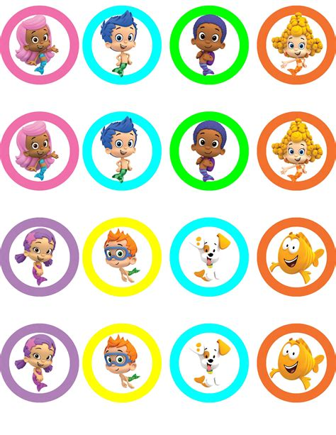 Pin By Sary Ducas On Second Birthday Bubble Guppies