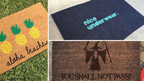 Design A Doormat by 16 Cool Doormat Designs That Will Welcome You Home