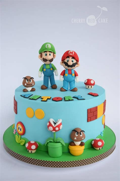 Cake Decoration Ideas With Gems by Best 25 Mario Cake Ideas On