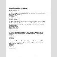 English Worksheets General Knowledge