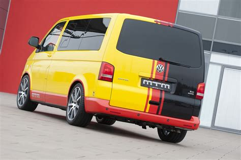 mtm volkswagen  van delivers  hp autoevolution